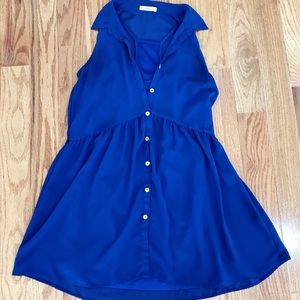 Tops - Tunic Blue Top